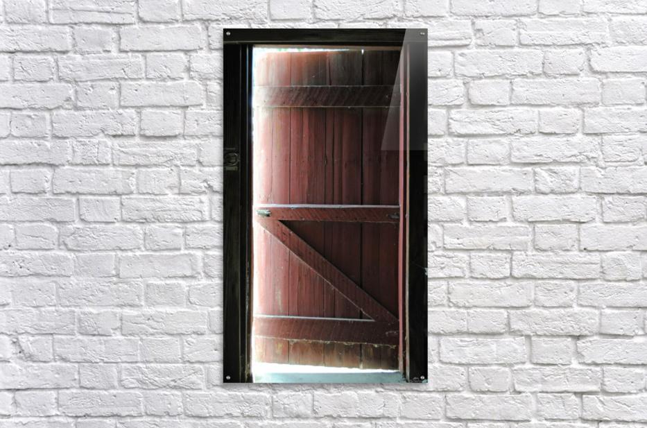 Barn Doors Open  Acrylic Print