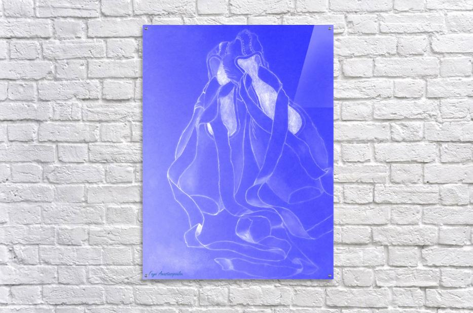 Celestial Pointe Shoes  Acrylic Print