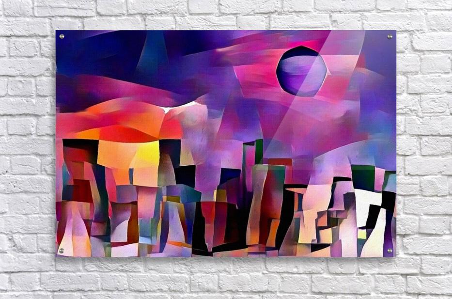 Dream Town  Acrylic Print