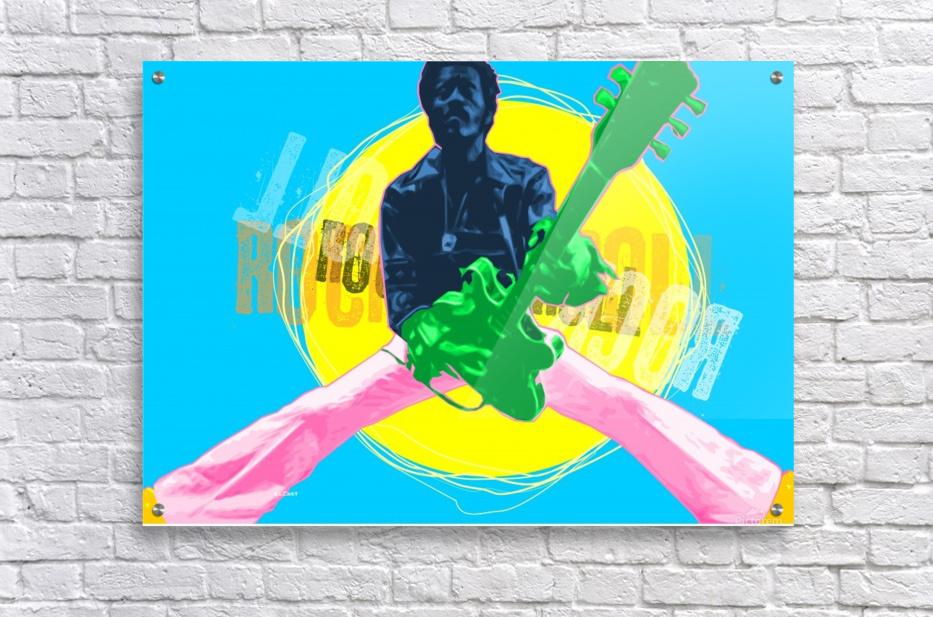 Rocknroll  Acrylic Print