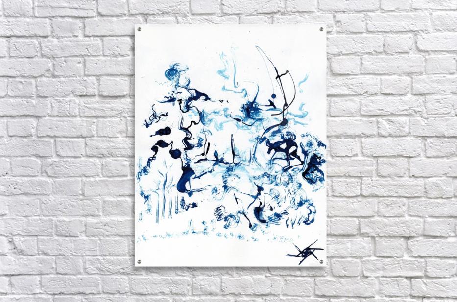 Caribou Crossing  Acrylic Print