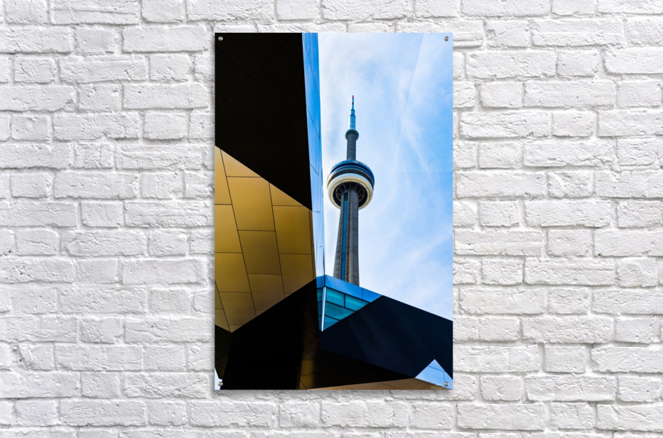 A tower in the sky  Acrylic Print