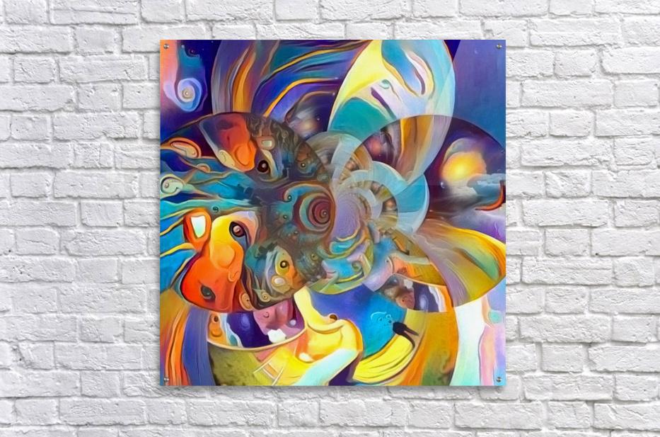 Vivid Illusion  Acrylic Print