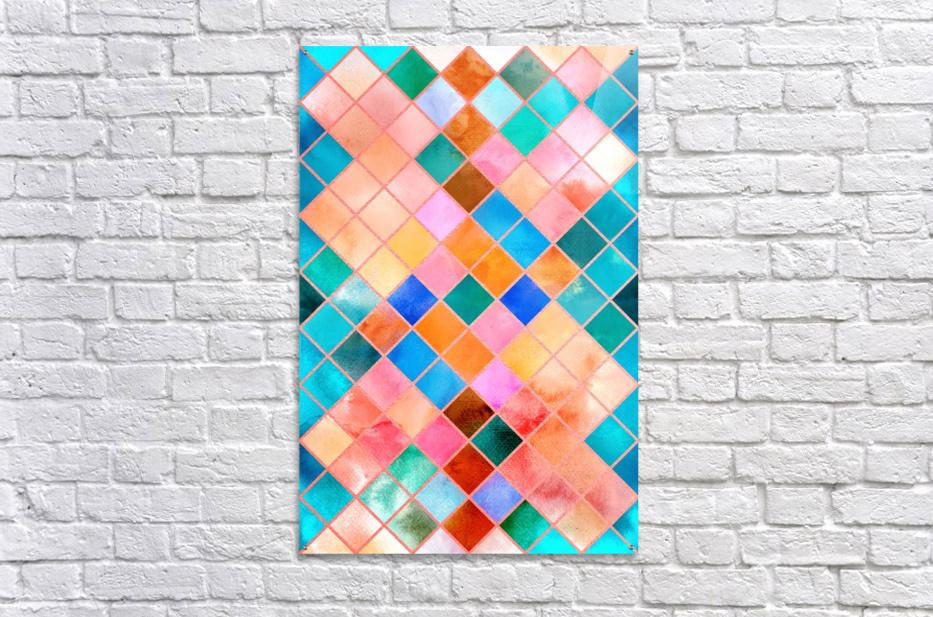 Geometric XXXX  Acrylic Print