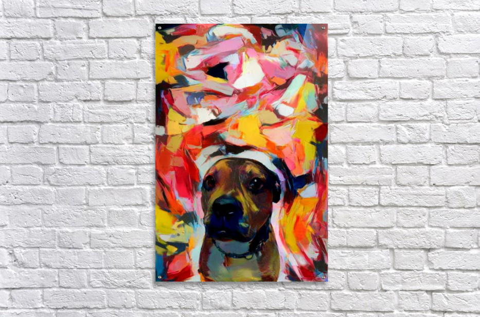 Dog Painting (10)  Acrylic Print