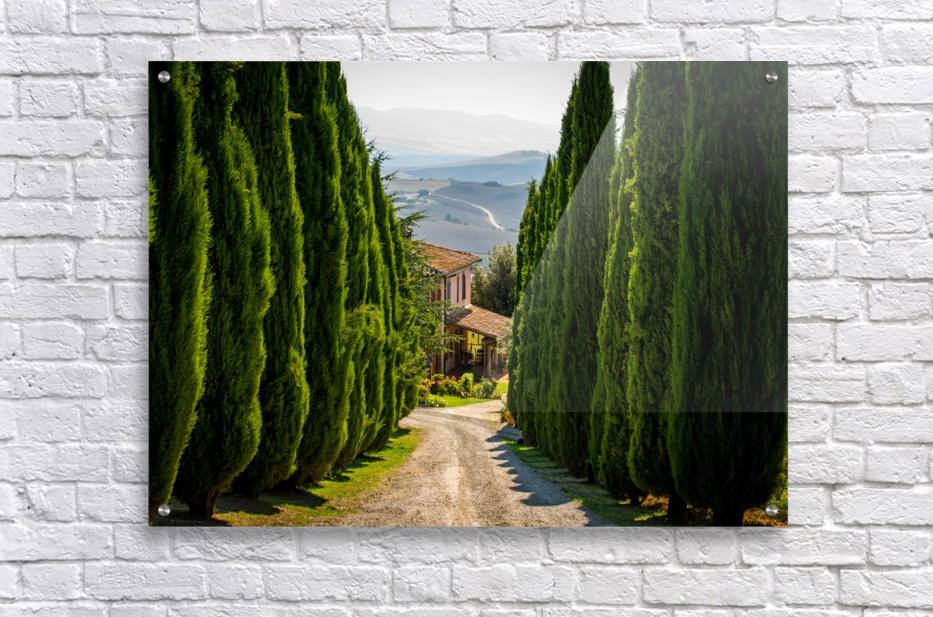 Tuscany House  Acrylic Print