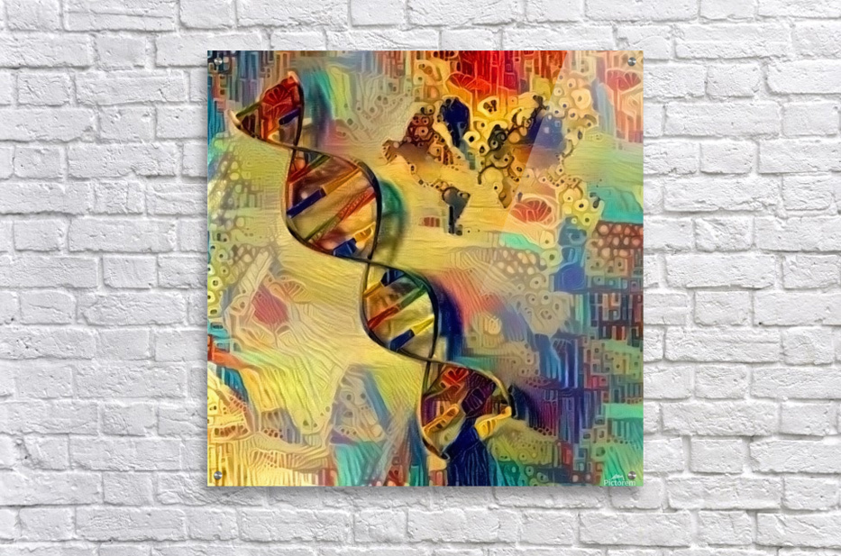 DNA Strand  Acrylic Print