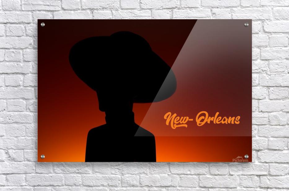 New-Orleans shadow  Acrylic Print