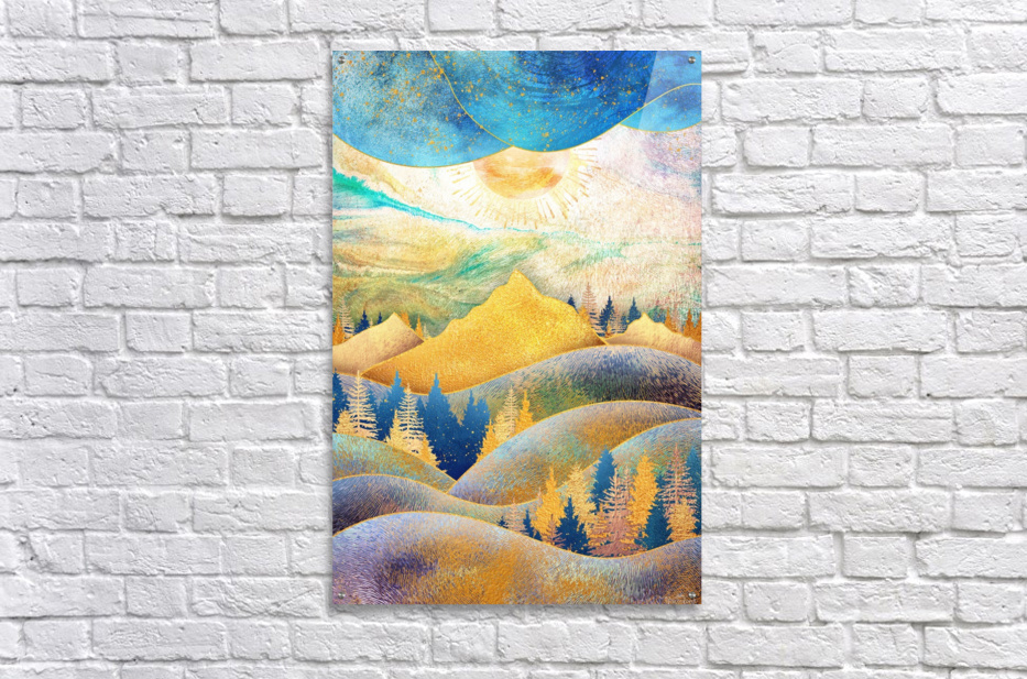 Beauty of Nature - Illustration III  Acrylic Print