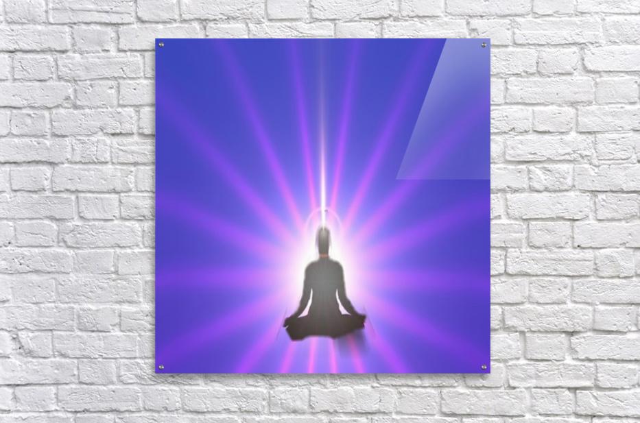 Meditation Art  Acrylic Print