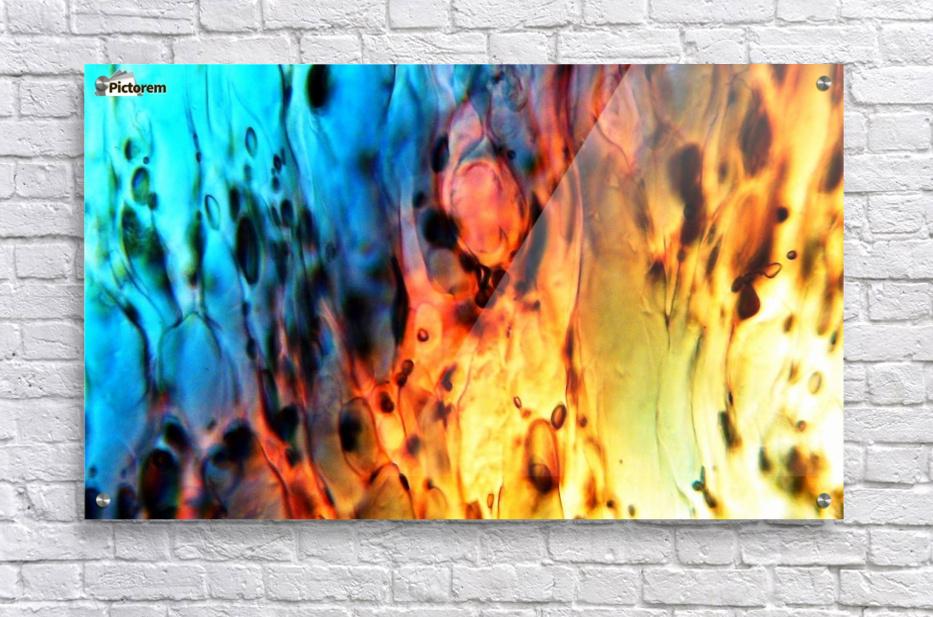 Fire Woman  Acrylic Print