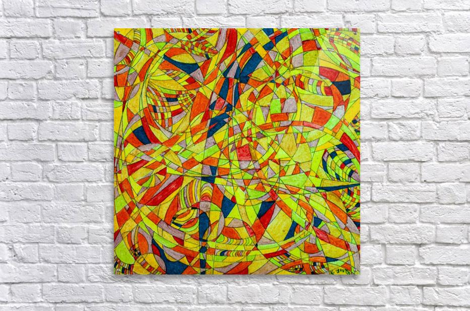 ABSTRACT SHAPES 10  Acrylic Print