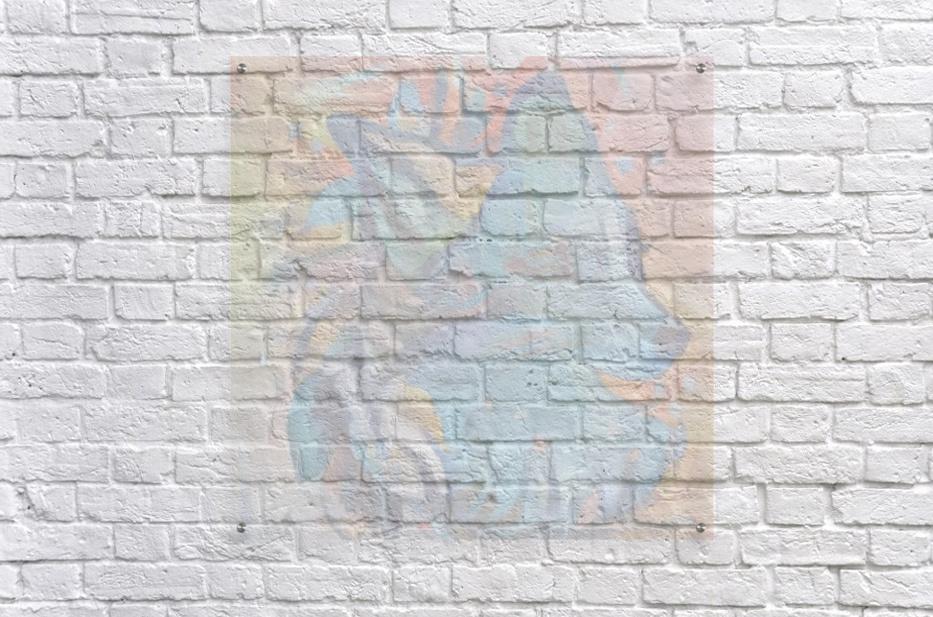 The Blue Wolf  Acrylic Print