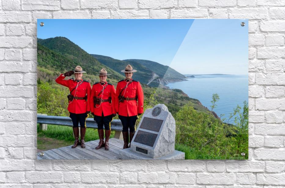 RCMP on French Mountain  Acrylic Print