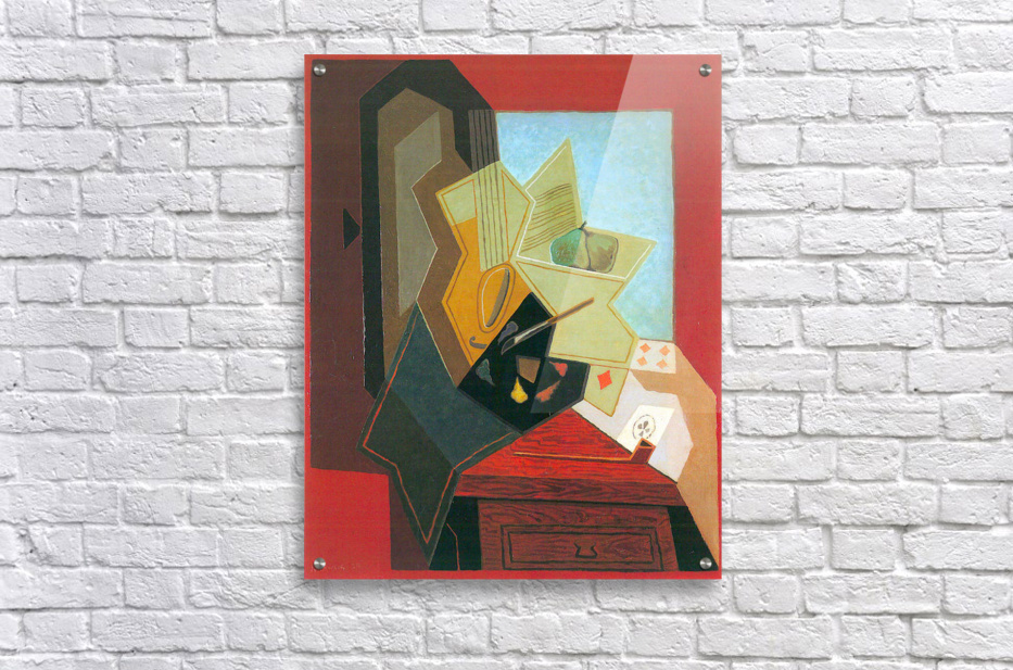 The window of the painter by Juan Gris  Acrylic Print