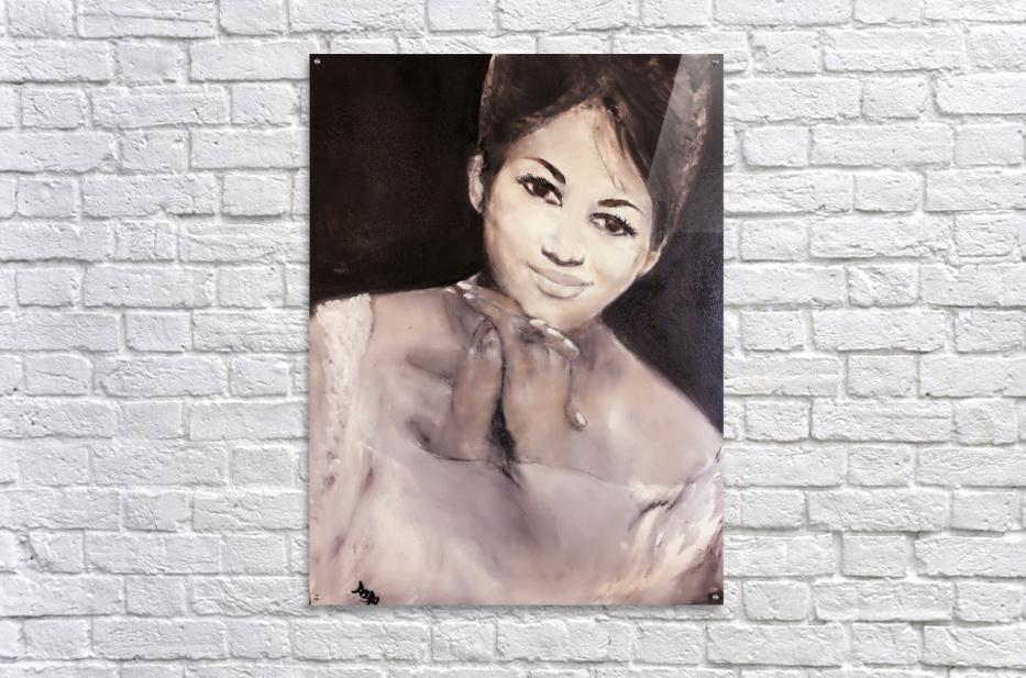 Aretha  Impression acrylique