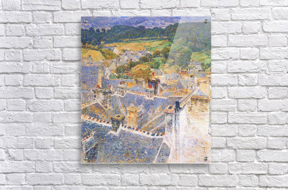 Roofs, Pont-Aven by Hassam  Acrylic Print