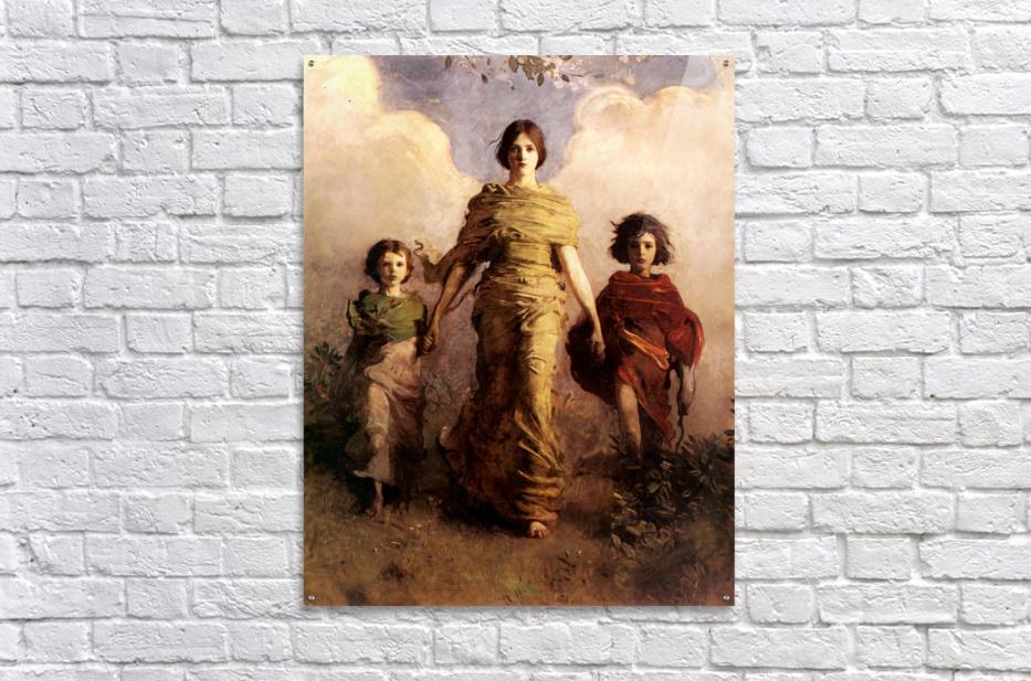 painting artwork art vintage  Acrylic Print