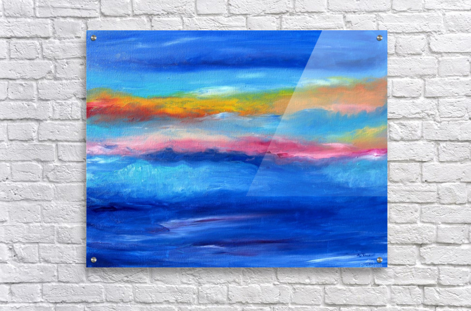Floating Sky  Acrylic Print