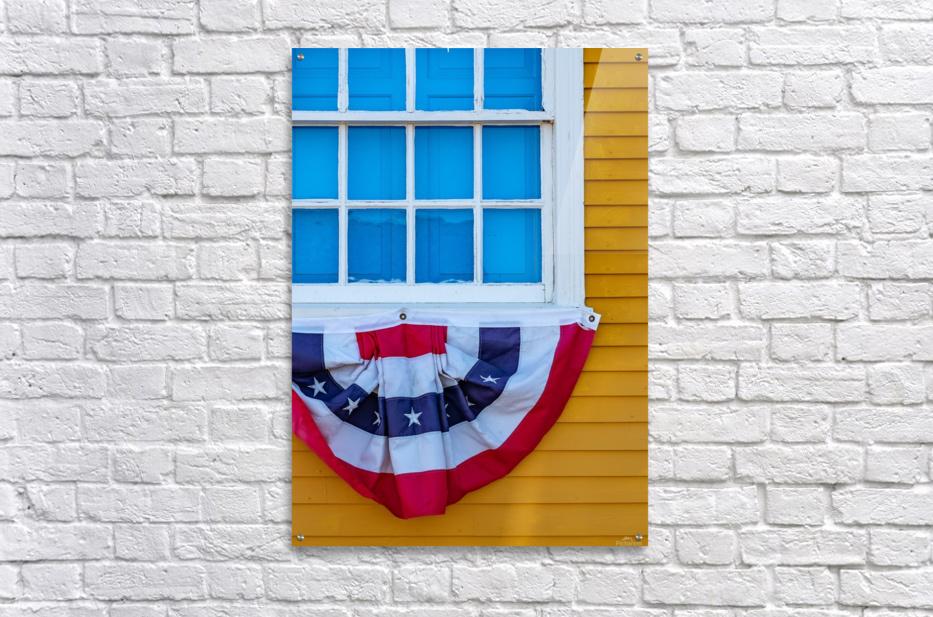 Patriotic Colonial  Acrylic Print