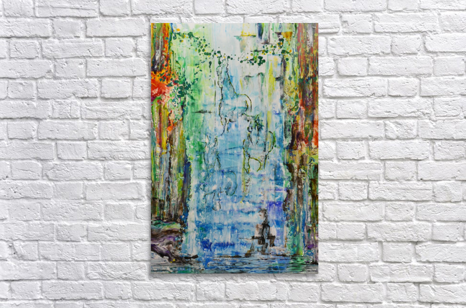 Dream Waterfall  Acrylic Print