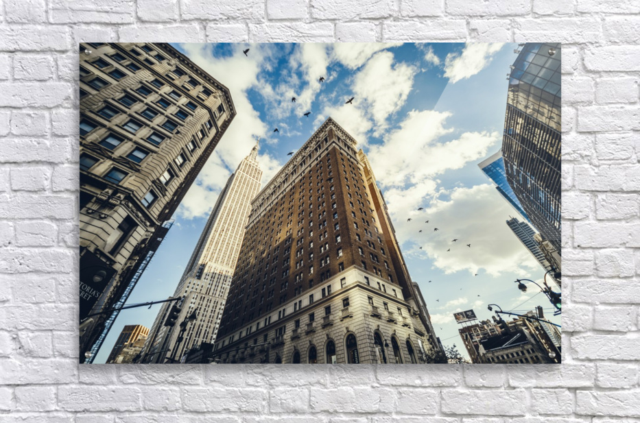 New York Sky  Acrylic Print