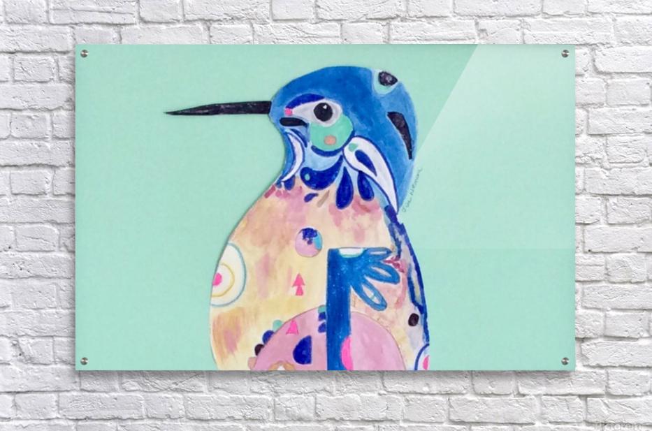 Azure Kingfisher   Acrylic Print