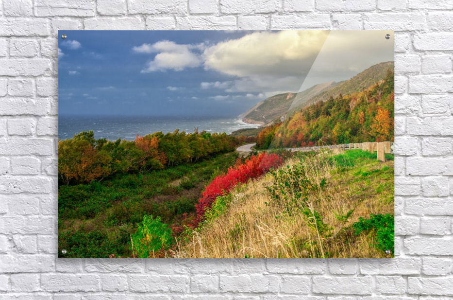 Cabot Trail Colors  Acrylic Print