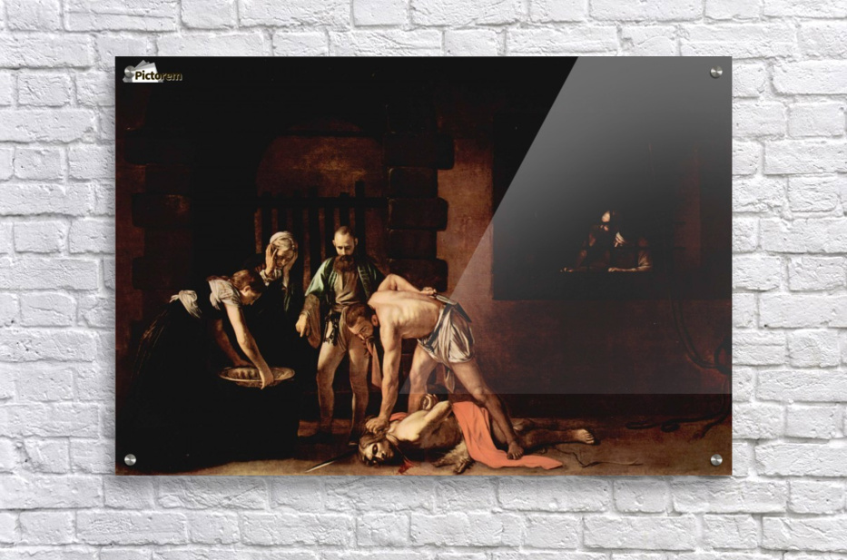 The Beheading of John the Baptist  Acrylic Print