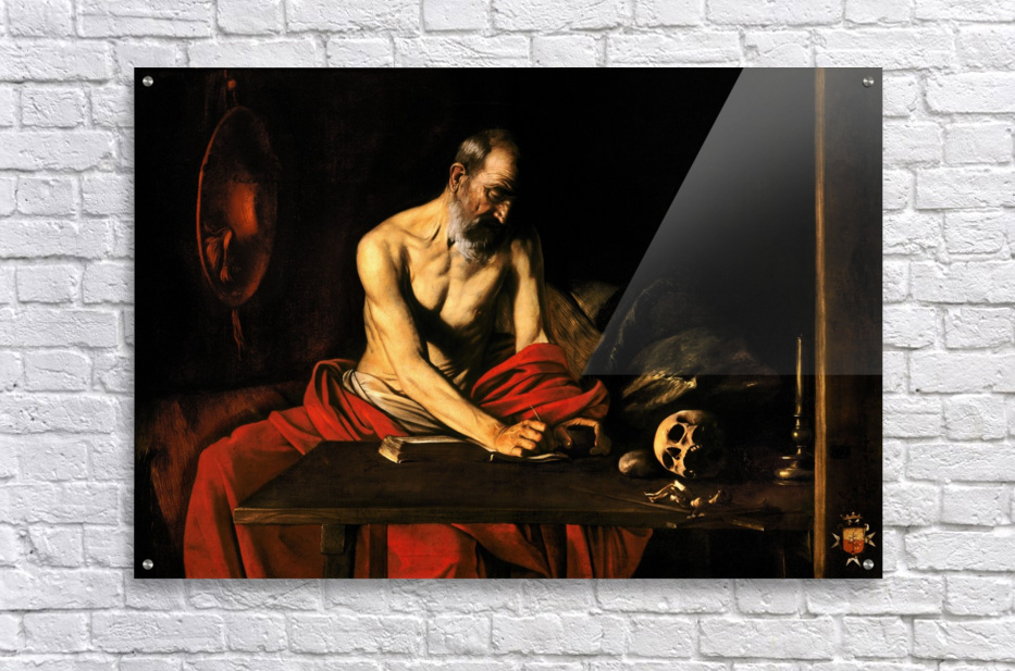 Saint Jerome writing  Acrylic Print