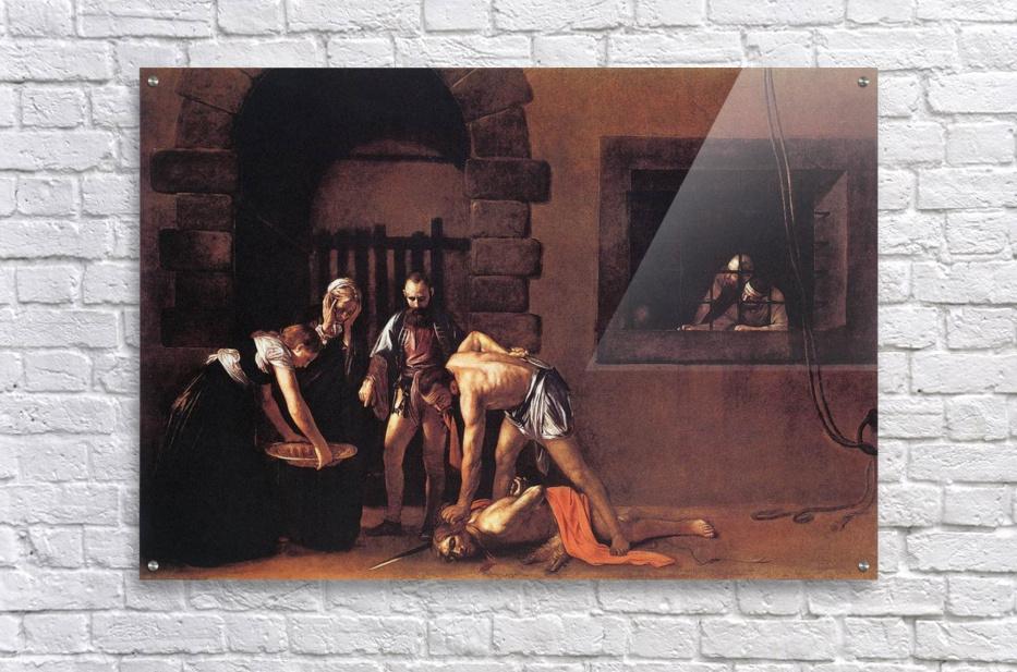 Beheading of Saint John the Baptist  Acrylic Print