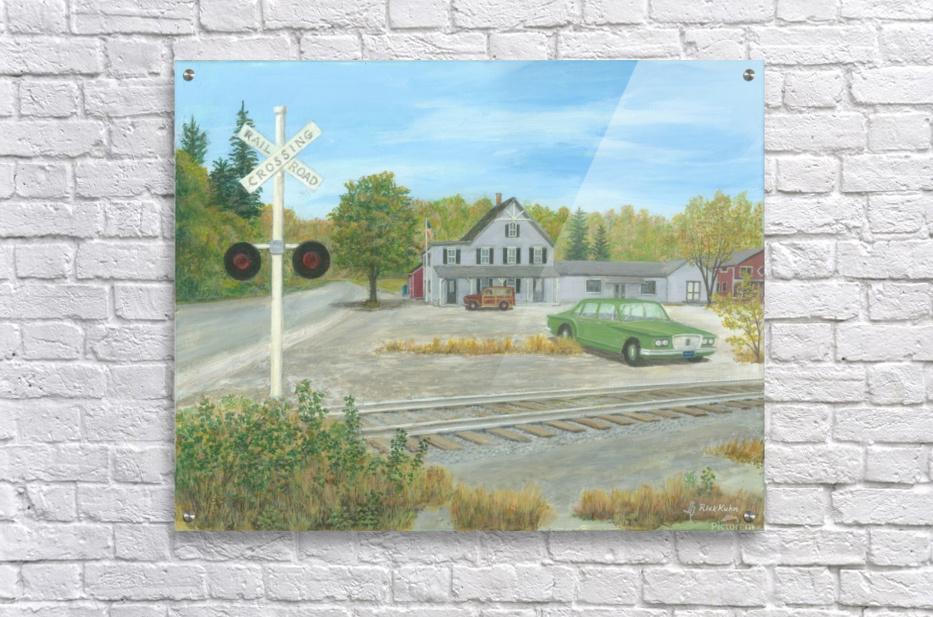 Hawleyville Scene - Newtown Scenes 16X20  Acrylic Print