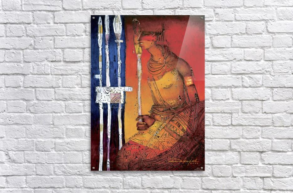 Massai  Impression acrylique