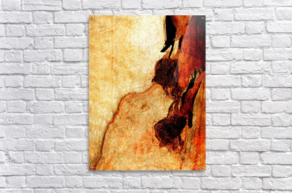 Murray Gum Tree Bark 3  Acrylic Print