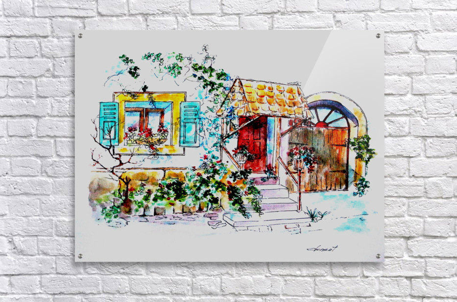 PTS - My House  Acrylic Print