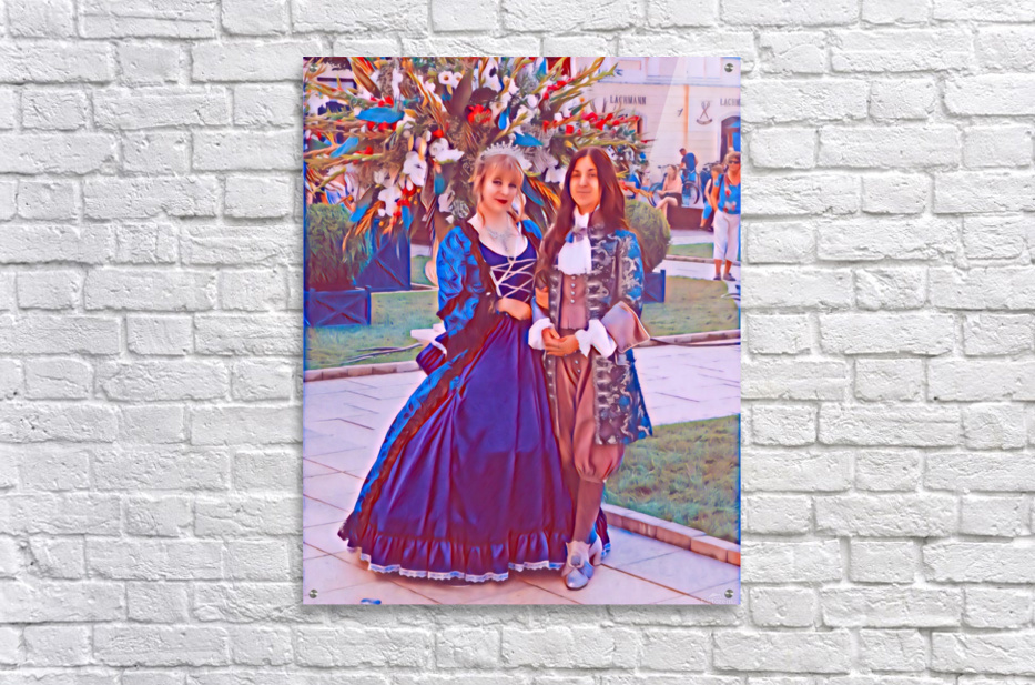 The infant womans partner  Acrylic Print
