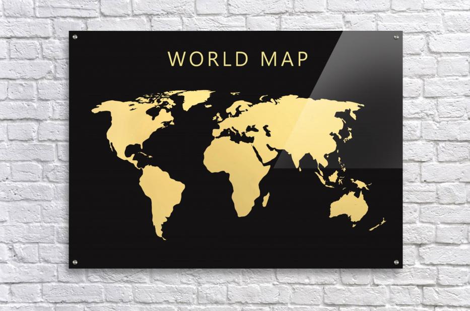 map world 2  Acrylic Print