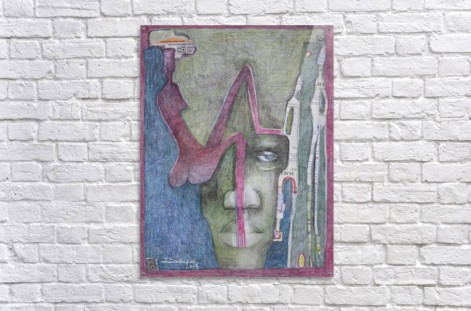 le masque 3  Acrylic Print