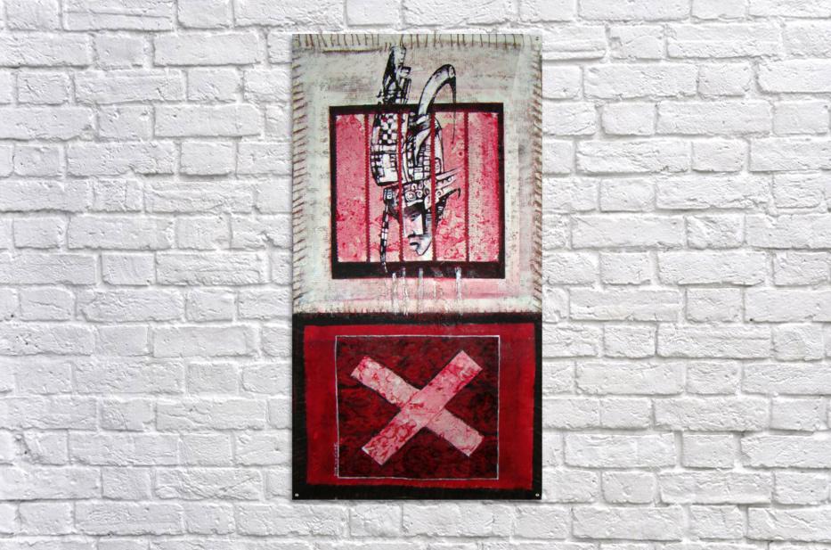 en_noir_et rouge  Acrylic Print