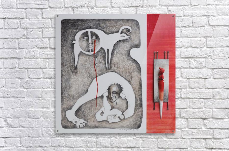 red sacrifice_vermeil  Acrylic Print