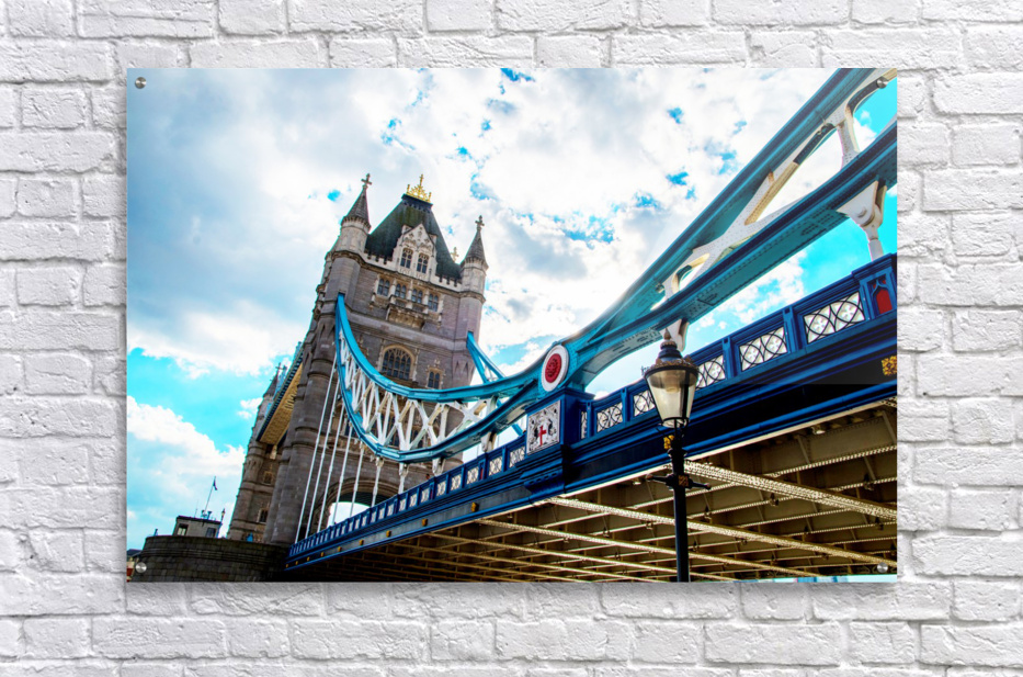 The Might of Tower Bridge  Acrylic Print