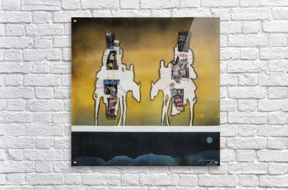 Donkey talk  Acrylic Print