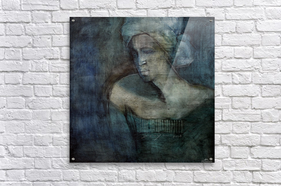 Woman of all trades  Acrylic Print