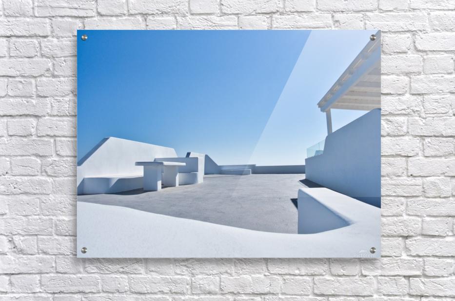 Cyclades White Architecture Design  Acrylic Print