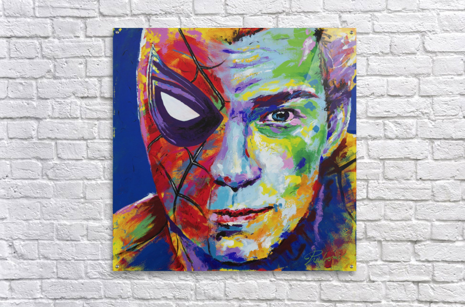 Spiderman_Portrait Art - Tadaomi -  Acrylic Print