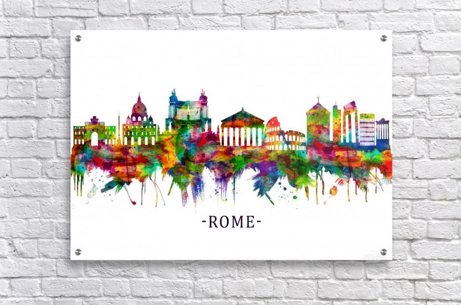 Rome Italy Skyline  Acrylic Print