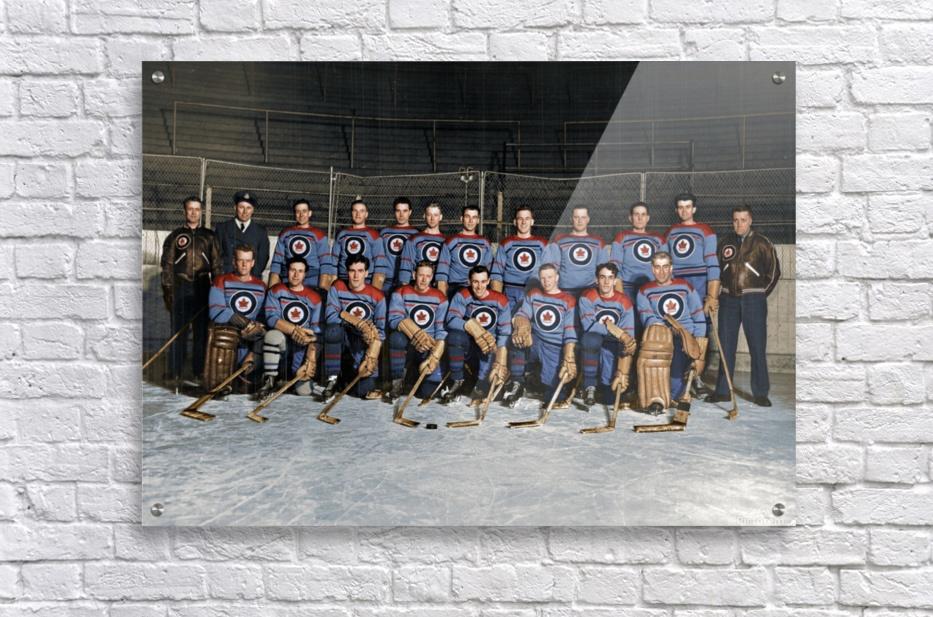 RCAF Flyers - Canadian Olympic Hockey Team October 29 1947  Acrylic Print