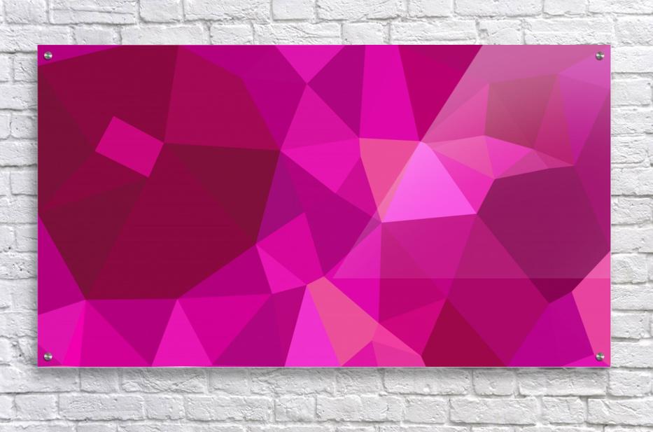 abstract geometric triangular art  Acrylic Print
