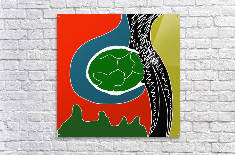 EarthWomb  Acrylic Print