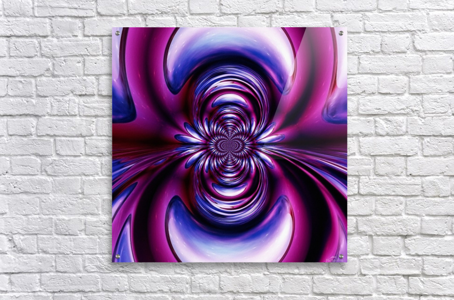 Purple Space  Acrylic Print